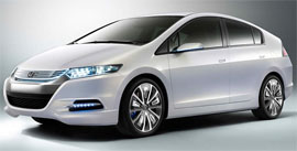 The new 2010 Honda Insight hybrid