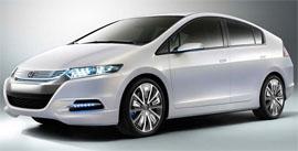The new 2010 Honda Insight hybrid